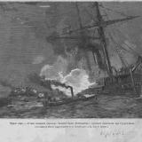 Черное море - Черное море. Атака катерами парохода «Великий Князь Константин» турецкого броненосца при Сухум-Кале.