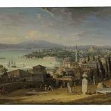 Стамбул. Гавань Золотой Рог.