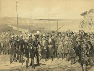 Будни укреплений Черноморской береговой линии