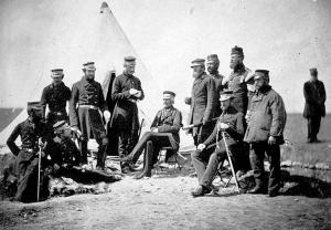 Расстановка сил в первой половине 1854 года