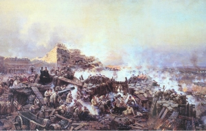 Боевые действия в Крыму в 1855 году