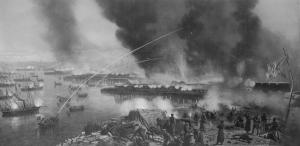 Союзная эскадра в Балтийском море