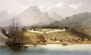 Форт Вельяминовский (апрель 1839 г.)